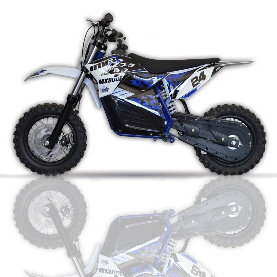 Moto Cross eléctrica infantil MX800E MINI HUB LITIO 10/10