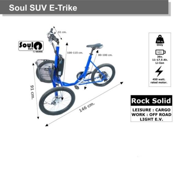 Triciclo Eléctrico Soul SUV