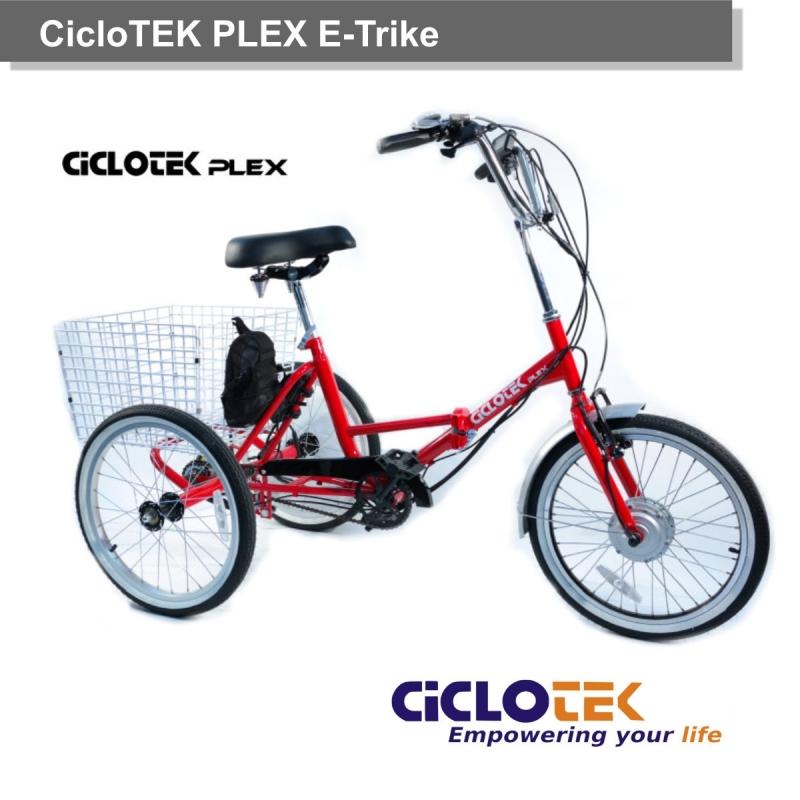 Triciclo Eléctrico Plex E-Trike