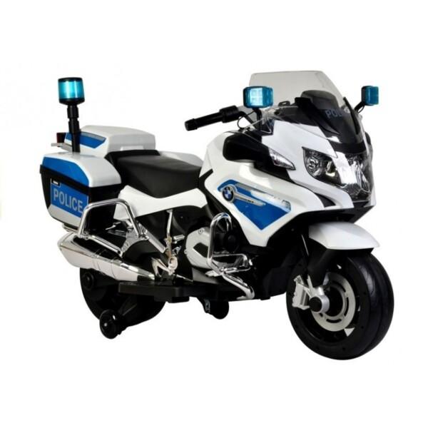 moto infantil eléctrica policía